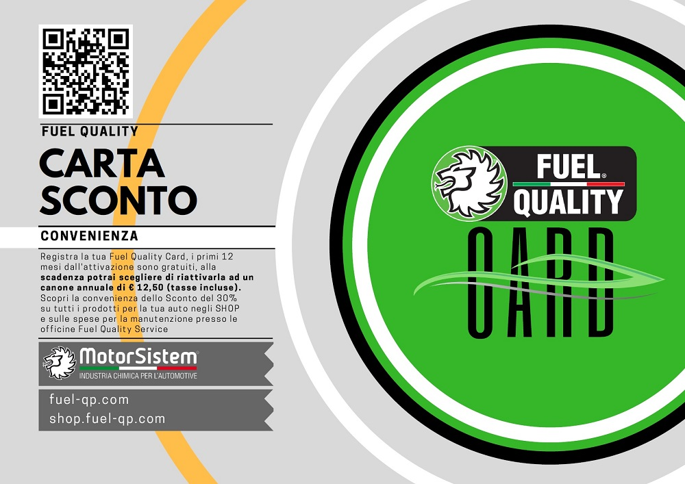 carta punti carburante fuel quality