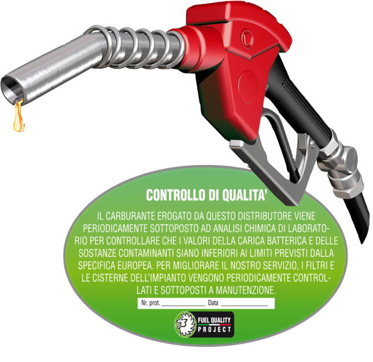 distributore di carburante Fuel Quality