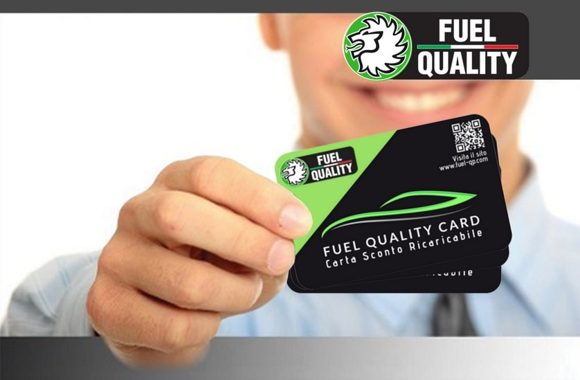 Carta Sconto Convenienza Fuel Quality Card